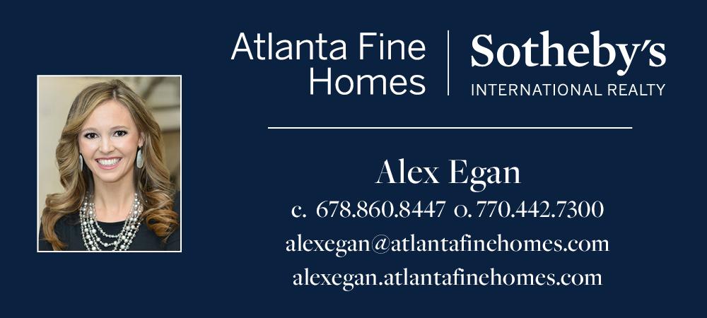 Alex Egan - Atlanta Fine Homes